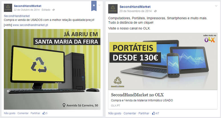 Second-Hand-facebook