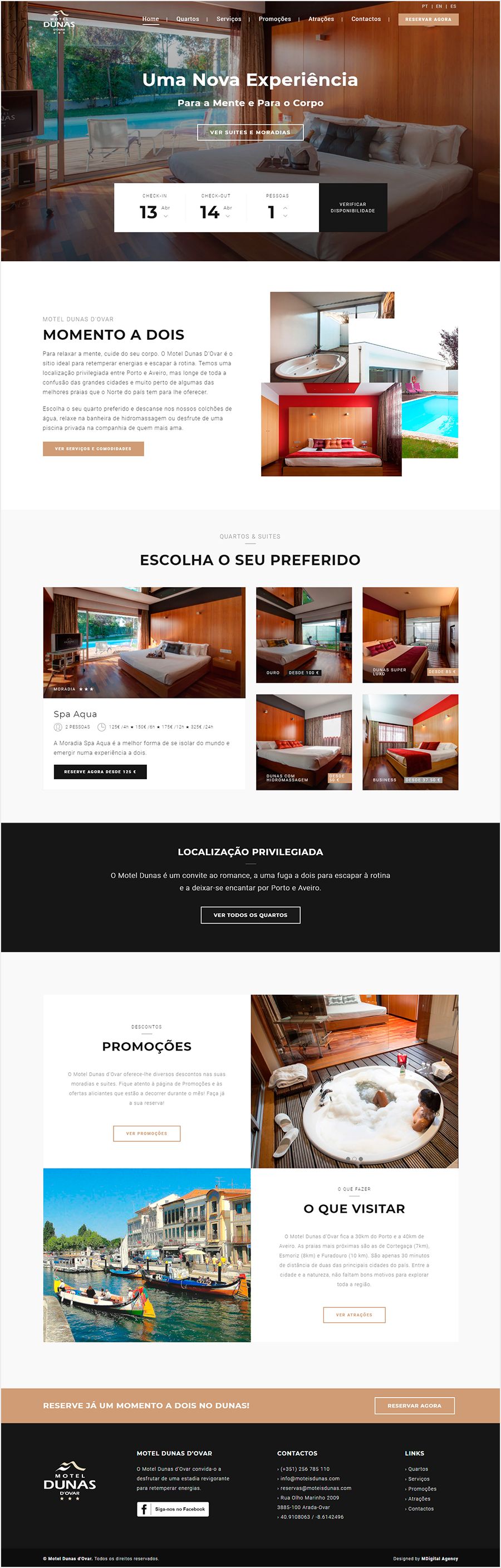 Site Motel Dunas
